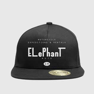 Elephant Moto Costa Rica Baseball Hat